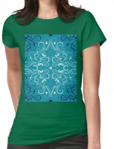 art forms like flowers Womens Fitted T-Shirt