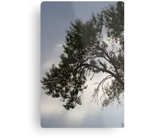 cloudy sky on the hilly Metal Print