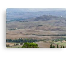 hilly landscape Canvas Print