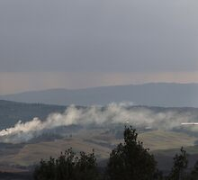 cloudy sky on the hilly by spetenfia