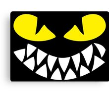 Dragons Smiles Design, Smiling Funny Dragon Canvas Print