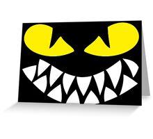 Dragons Smiles Design, Smiling Funny Dragon Greeting Card