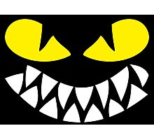 Dragons Smiles Design, Smiling Funny Dragon Photographic Print