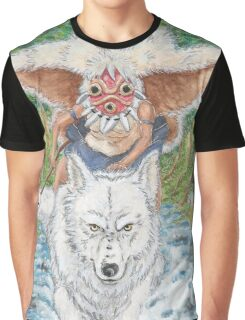 Mononoke Hime Graphic T-Shirt