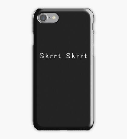 skrt iPhone Case/Skin