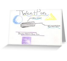 TweetPon Greeting Card