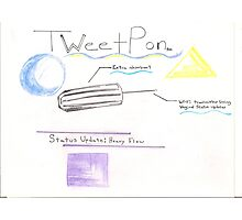 TweetPon Photographic Print