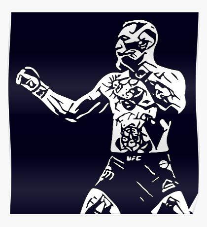 Monochrome McGregor Poster