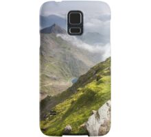 Wales - View from Snowdon Samsung Galaxy Case/Skin