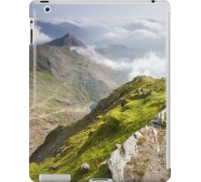 Wales - View from Snowdon iPad Case/Skin