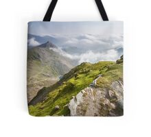 Wales - View from Snowdon Tote Bag