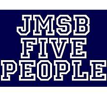 Five people Uni type Photographic Print