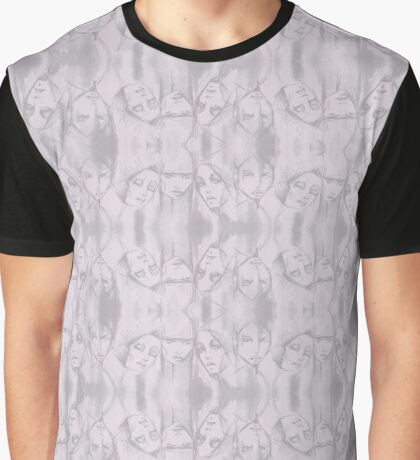 mauve heads Graphic T-Shirt
