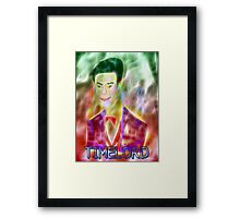 Timelord Framed Print