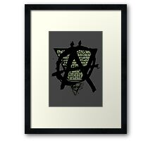 System of Decay Framed Print