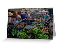 The Market Greeting Card