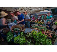 The Market Photographic Print