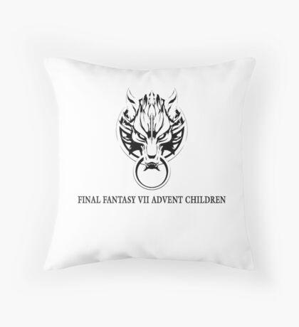 FF cloud strife Throw Pillow