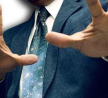 Neil deGrasse Tyson Reaction meme - We got a badass over here! Sticker