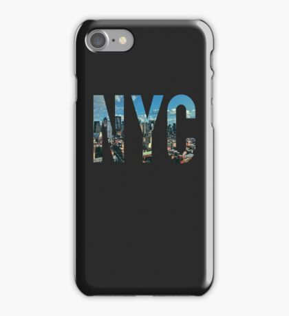 NEW YORK CITY. iPhone Case/Skin