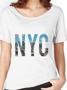 NEW YORK CITY. Women's Relaxed Fit T-Shirt