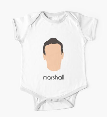 How I Met Your Mother - Marshall Headshot One Piece - Short Sleeve
