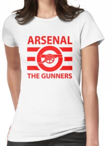 Arsenal - The gunners Womens Fitted T-Shirt