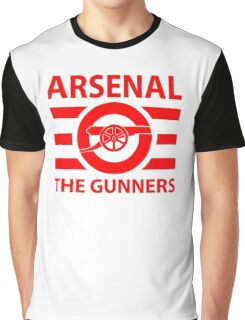 Arsenal - The gunners Graphic T-Shirt