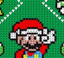Super Mario Ugly Christmas Sticker