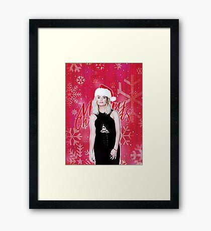 Ashley Benson: Christmas Framed Print