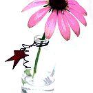 pink on white by Lynne Prestebak