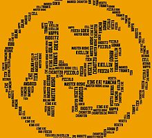 DBZ Kanji by KNUX-DESIGNS