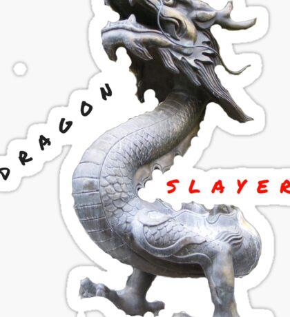 HUMOR BEAST DRAGON SLAYER Sticker