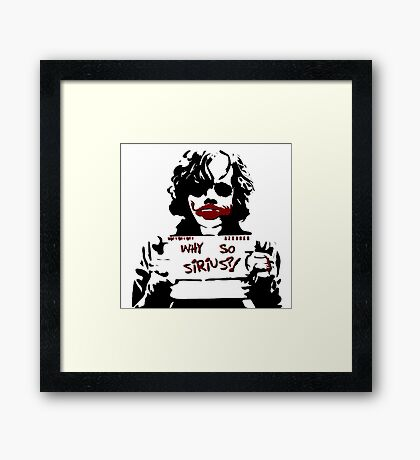 Why so Sirius? Framed Print