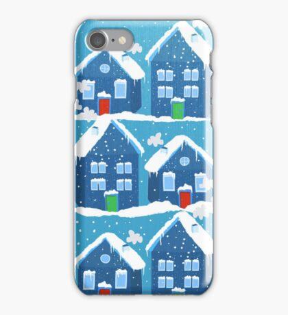 Winter In The Village iPhone Case/Skin