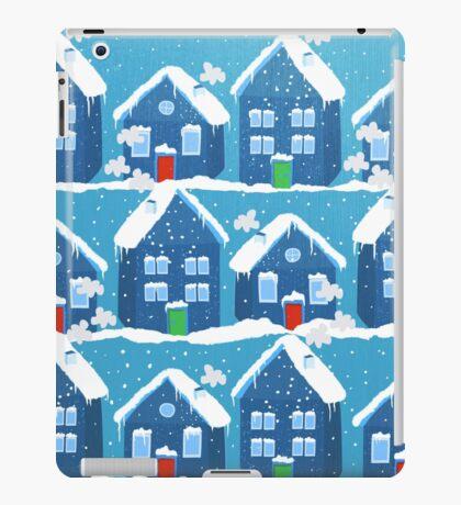 Winter In The Village iPad Case/Skin