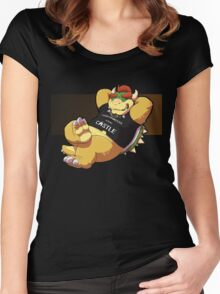 Your Princess is in my castle 2 Women's Fitted Scoop T-Shirt