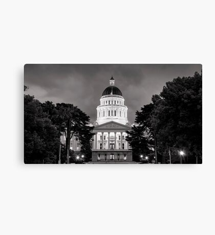 Capital Canvas Print