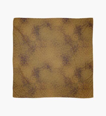 Snake Skin - Bronze Scarf