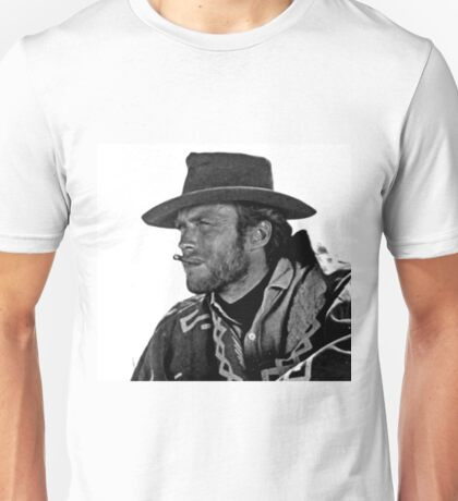 Iconic Clint Eastwood Unisex T-Shirt