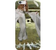 ~ White Feathers ~ iPhone Case/Skin