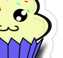 Hey Cupcake Sticker