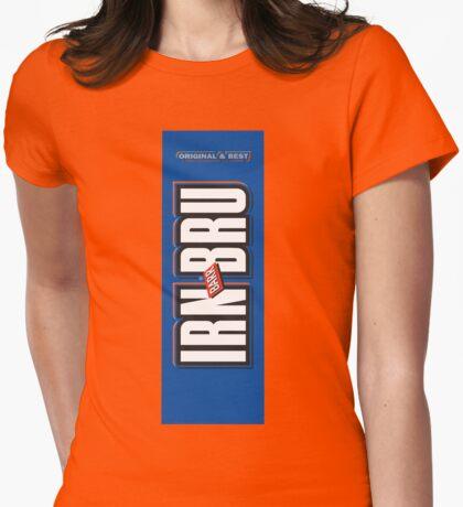 IRN BRU IRON BREW Womens Fitted T-Shirt