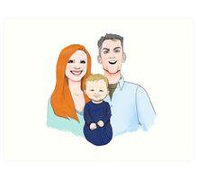 Ballard Family Portrait Art Print