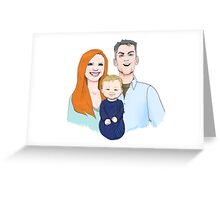 Ballard Family Portrait Greeting Card