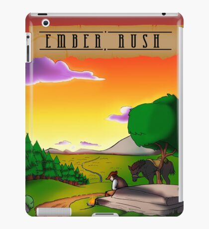 Ember Rush - Cover  iPad Case/Skin