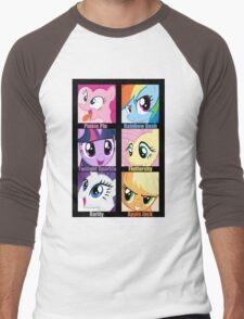 Everypony Is Best Pony Men's Baseball ¾ T-Shirt