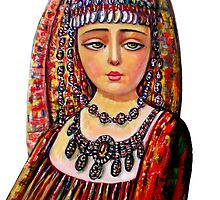 The Armenian Girl (cropped)  by Sevada