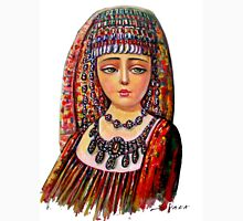 The Armenian Girl (cropped)  Womens Fitted T-Shirt