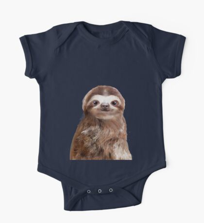 Little Sloth One Piece - Short Sleeve
